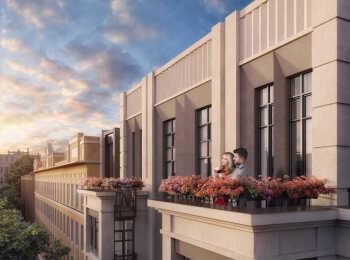 Проектом предусмотрены квартиры с террасами